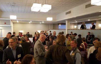 Legislative Reception Draws Nearly 200