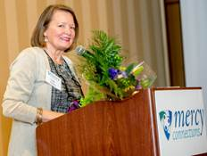 Mercy Connections celebrates participants and honors Lisa Ventriss at Annual May Luncheon