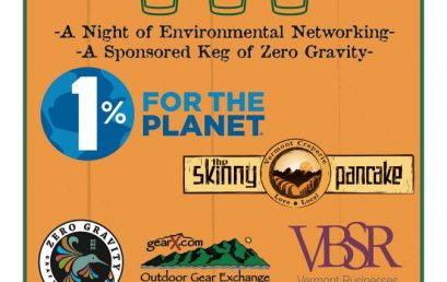 Green Drinks with 1% for the Planet