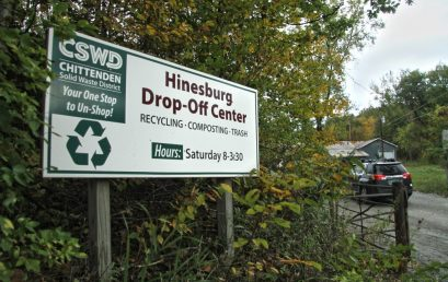 CSWD to Close Hinesburg Drop-Off Center during Construction of the Town's Highway Garage