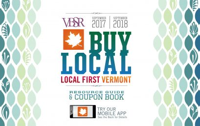 Local First Vermont Releases Buy Local Book and App,  Partners with VSECU