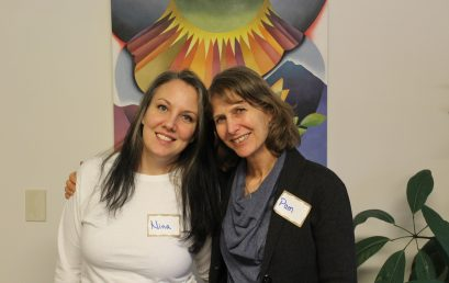 Vermont Women's Mentoring Program training for new mentors at Mercy Connections