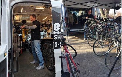Cowbell Mobile Bike Shop Keeps Dunkiel Saunders Rolling