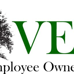 VEOC logo with trees