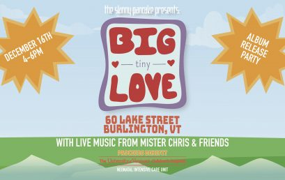 The Skinny Pancake Announces Big Tiny Love Album Release Party