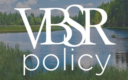 VBSR Letter of Support for Burlington Mayor's Climate Action Plan