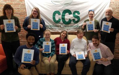 "CCS makes ""Best Places to Work in Vermont"" list"