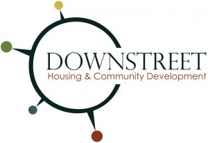 Downstreet Housing & Community Development Logo