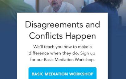 Basic Mediation Workshop at Champlain College