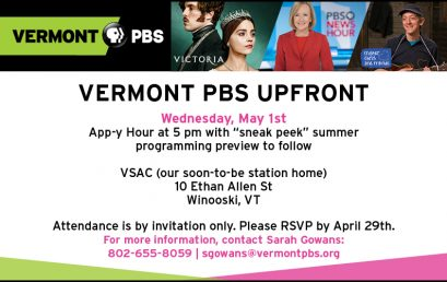 Vermont PBS Upfronts Event