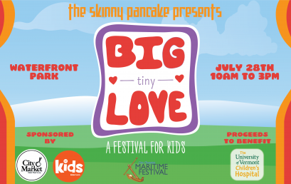 The Skinny Pancake Produces Second Annual Big Tiny Love: A Festival for Kids