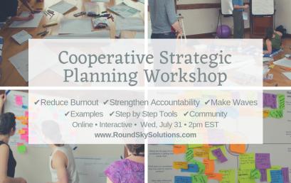 Cooperative Strategic Planning Workshop