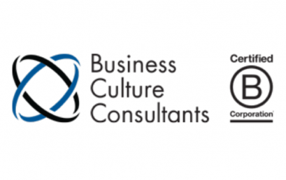 "Business Culture Consultants recognized as a ""Best For The World"" B Corp for their significant improvement to their overall company impact"