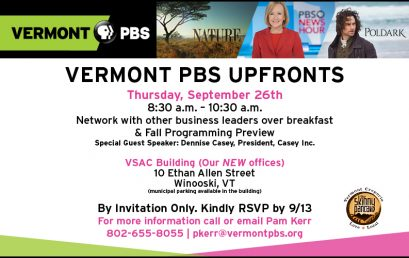 Vermont PBS Fall Upfronts Sneak Peek Screening
