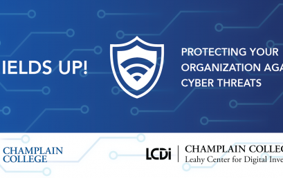 Shields Up! Protecting your Organization Against Cyber Threats