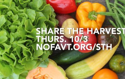 Share the Harvest – Eat Out to Donate Towards CSAs for Low-Income Vermonters