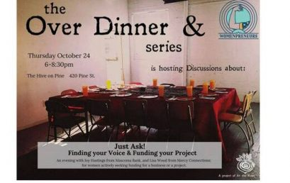 Over Dinner Series: Just Ask-Finding your Voice & Funding your Project