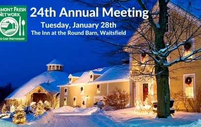 Vermont Fresh Network's  24th Annual Meeting