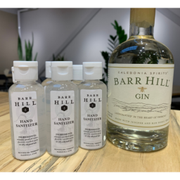 Barr Hill Gin makes hand sanitizer