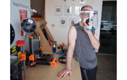 Generator, OVR Technologies and partners rapidly prototyping PPE for medical community