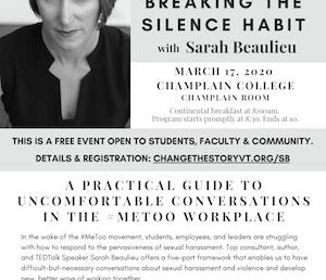 Breaking the Silence Habit with Sarah Beaulieu