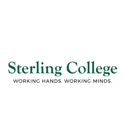 Sterling College logo 'working hands. working minds.'