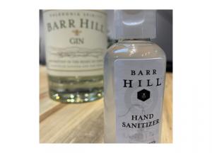 Caledonia Spirits hand sanitizer