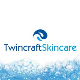 Twincraft Skincare soap bubbles logo