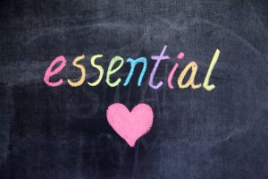 Essential with heart