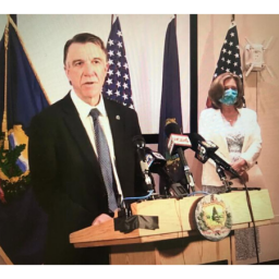 Gov. Phil Scott denounced the actions of four Minnesota police officers involved in the arrest of George Floyd, a black man who died after a white officer kneeled on his neck for several minutes.