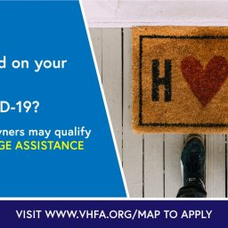 VHFA new mortgage assistance program graphic for those whose payments affected by COVID
