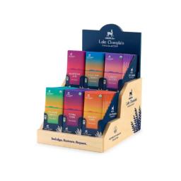 LCC new restorative chocolate bars, in wooden display box