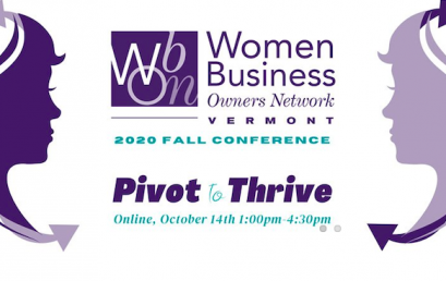 WBON ANNOUNCES FALL CONFERENCE OCTOBER 14:  Pivot to Thrive