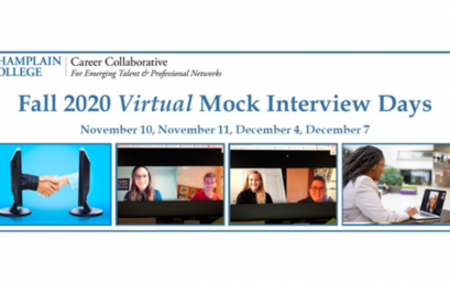 Champlain College recruiting volunteers for Virtual Mock Interview Days