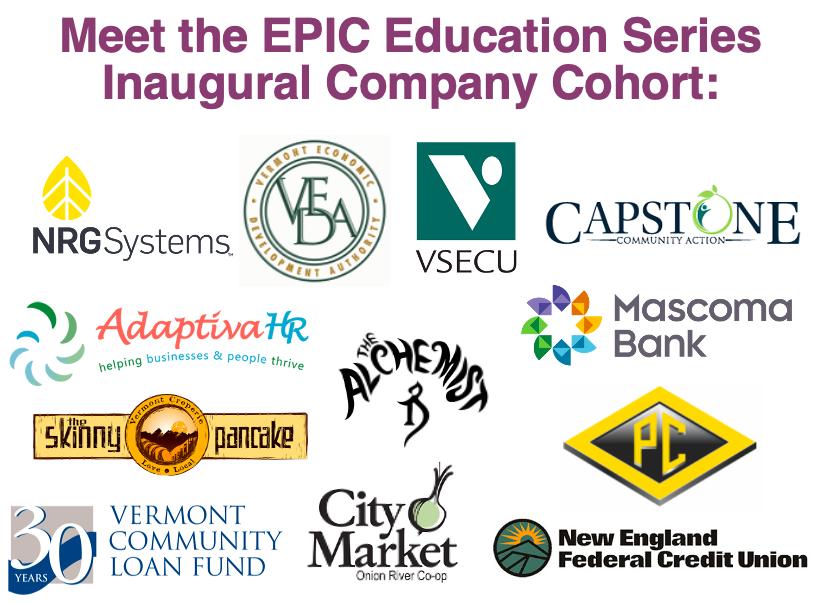 Inaugural EPIC Series Cohort