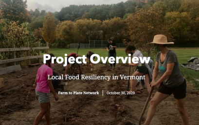 VSJF Project – Local Food Resiliency in Vermont