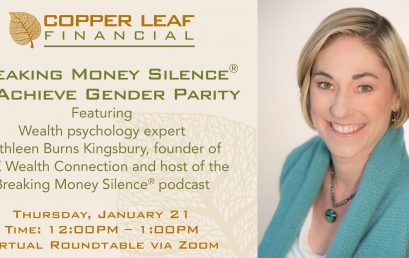 Breaking Money Silence® to Achieve Gender Parity
