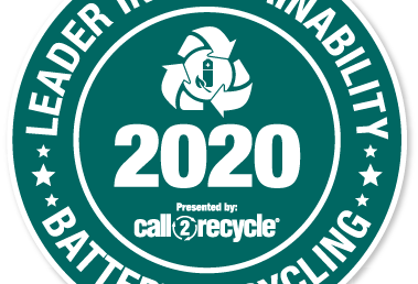 CSWD Receives Call2Recycle's 2020 Top 100 Leader in Sustainability Award