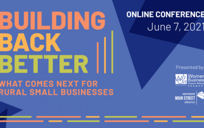 WBON ANNOUNCES SPRING CONFERENCE – BUILDING BACK BETTER: WHAT COMES NEXT FOR RURAL SMALL BUSINESSES