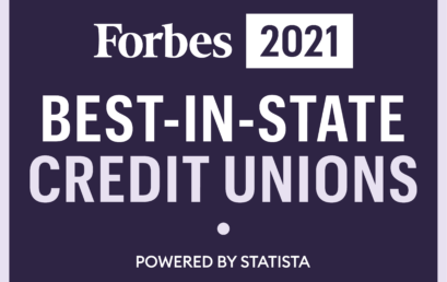 Vermont Federal Credit Union is recognized by Forbes Magazine as a Best-In-State Credit Union for the 4th consecutive year